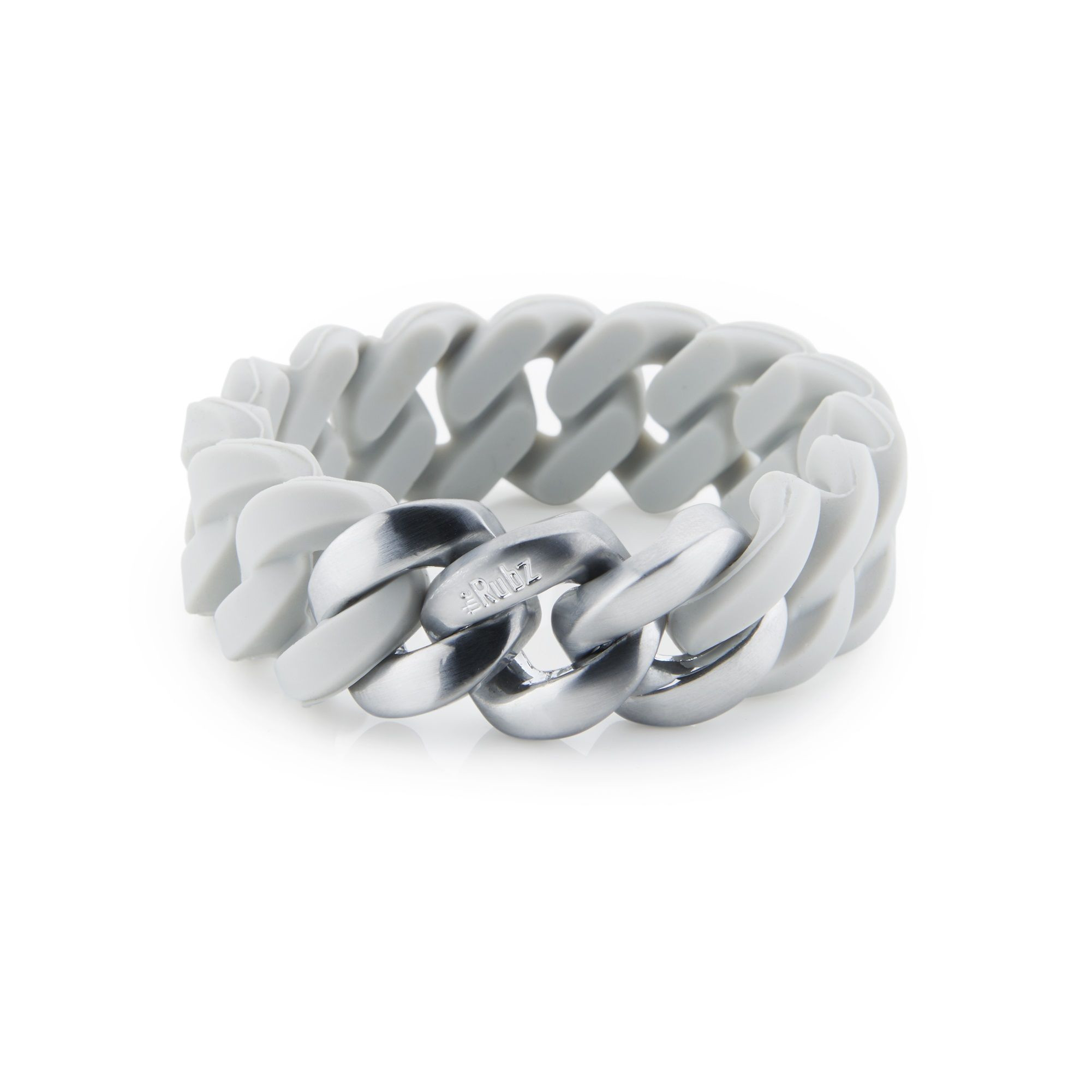 Classic Bracelet 20 mm | Douce Grey & Brushed Silver