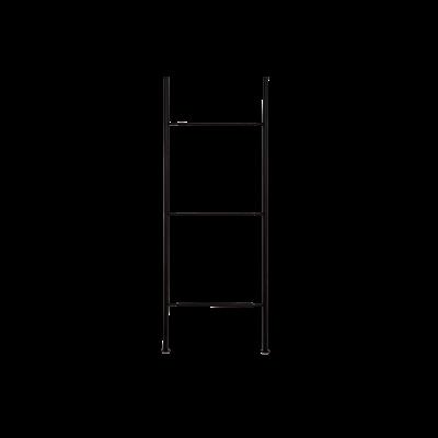 Lagerregalsystem Niedrige Leiter | Schwarz