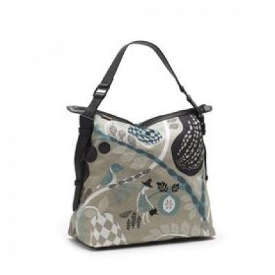 Messenger Bag | Fruit Garden Grau