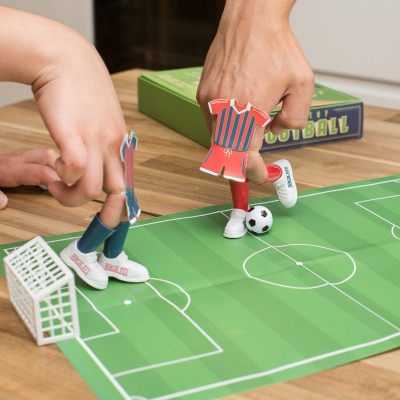 Schreibtisch-Fußballspiel