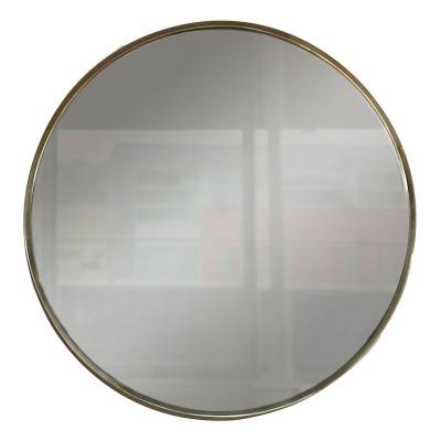 Spiegel Voltera D80 | Poliertes Gold