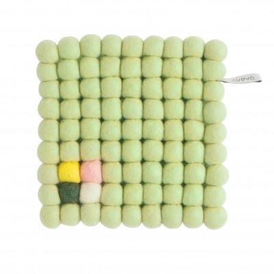 Topfuntersetzer Quadrat   Hellgrün