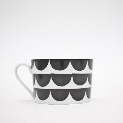 Just My Cup of Tea - Tu Es La Vague Druck   Schwarz