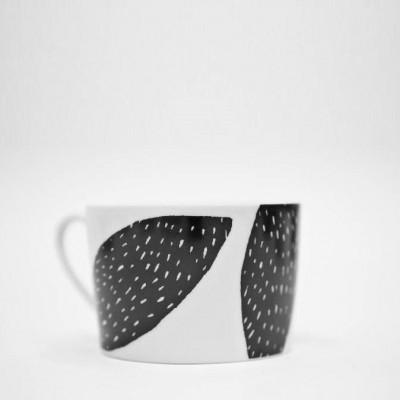 Nur meine Tasse Tee   Schwarz-Mandel