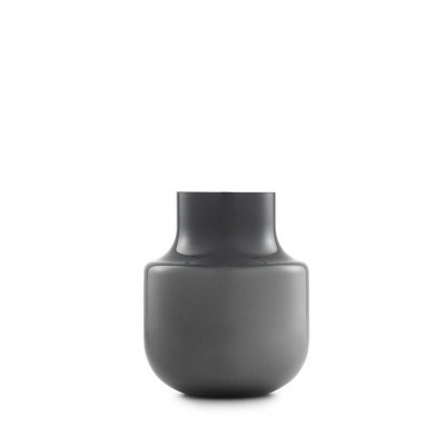 Vase noch 19 cm | Grau