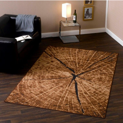 Tree Trunk   Square Rug