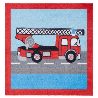 Square Carpet   Fire Truck