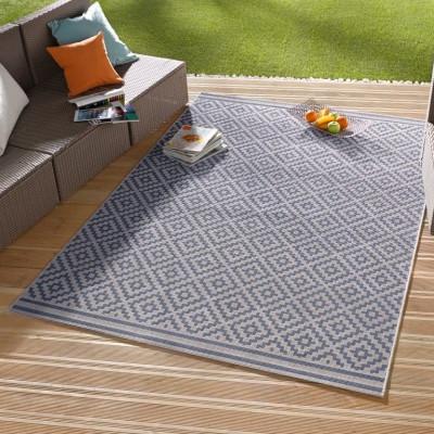 Carpet Meadow | Blue & Cream
