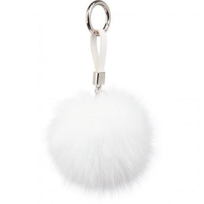 Schlüsselbund Pom Pom | Weiß