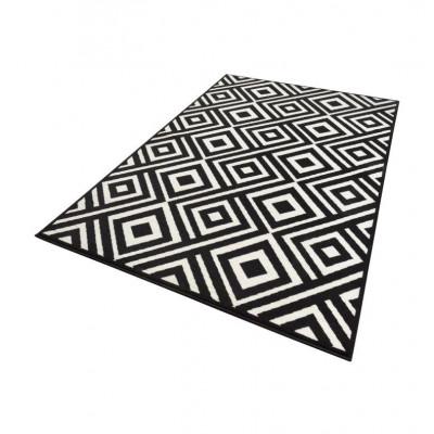 Rug | Black & Cream Squares