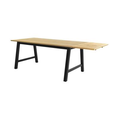 Verlängerungsplatte für Tisch Smith | Helles Holz