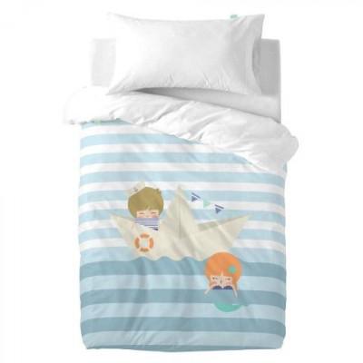 Duvet Cover 100 x 120 cm & Pillow 50 x 30 cm   Sailor