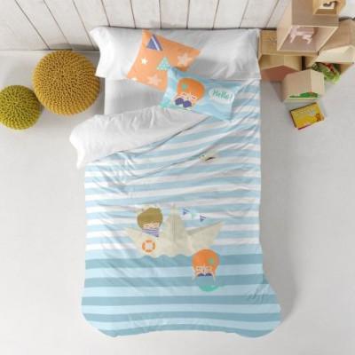 Duvet Cover 140 x 200 cm & Pillow 40 x 40 cm   Sailor