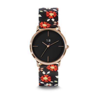 Frauen-Uhr Nectar 34   Schwarz