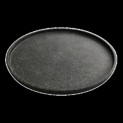 Tablett Terrazzo Small Dia. 55 cm  | Schwarz