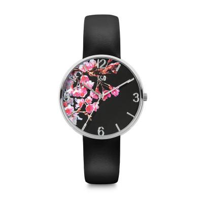 Frauen-Uhr Blossom 36   Schwarz