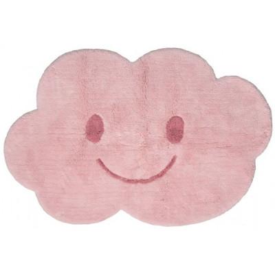 Washable Cotton Rug | Nimbus Pink