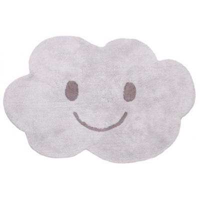 Washable Cotton Rug | Nimbus Grey