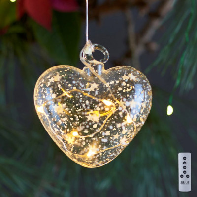 Romantisches Herz Ø 8 cm