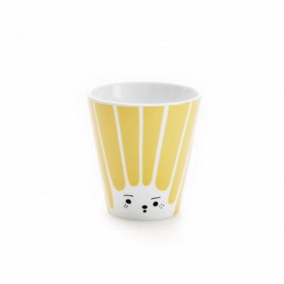 Kaffee, Tee, ich? Oh What A Friendly Face   Gelb