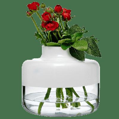 Magnolia Vase 240/200 mm | White Top
