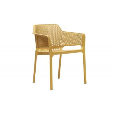 Stapelbares Sessel Net | Gelb