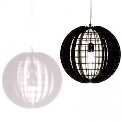 Die Hemmesphere Lampe Schwarz