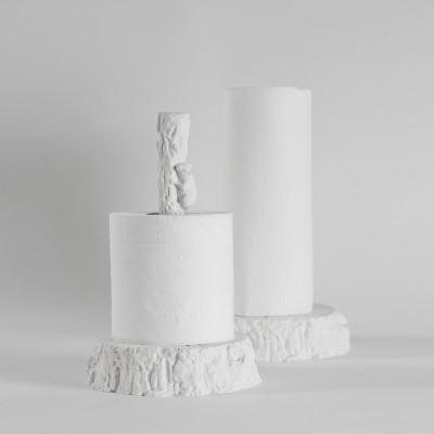 Papiertuchhalter Eichhörnchen | Weiß