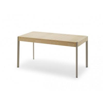 Outdoor Table Gerda 140 | Ivory & Pebble Grey