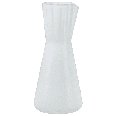Lady Water Carafe | Opal White