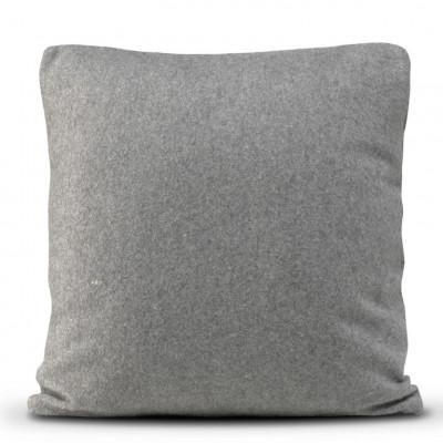 Kissenbezug 50 x 50 cm Origami Filz | Grau
