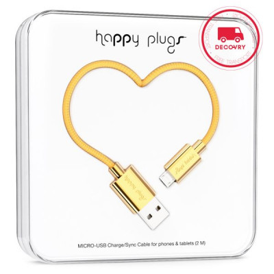Micro-USB Carge/ Sync Cable | Gold