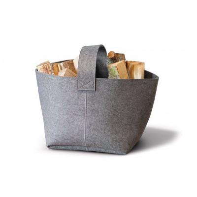 Fire Basket Light Grey