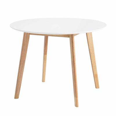 Runder Tisch Monna ø 100 cm | Eiche-Weiß