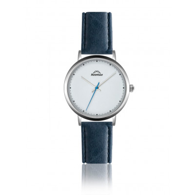 Männeruhr Elbrus Classic   Blau & Weiß