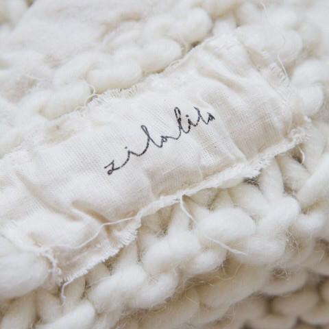 Decke Sophie | Graublau