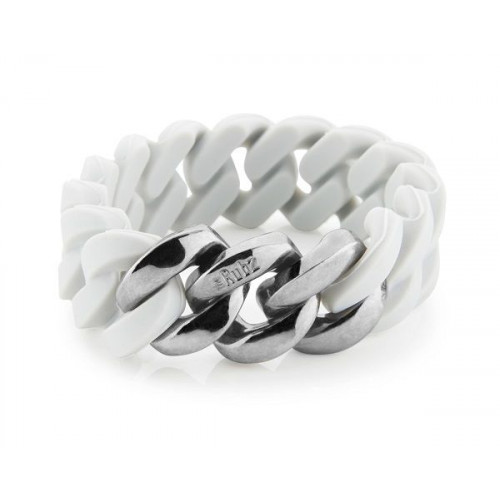 Classic Bracelet 20 mm | Douce Grey & Antique Silver