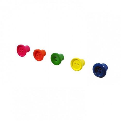 5 Mini Hooks | Button Up