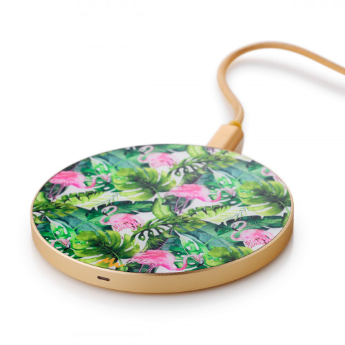 Wireless Charger | Flamingle / Gold