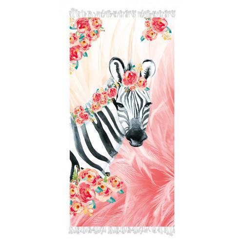 Strandtuch Zebra Boho