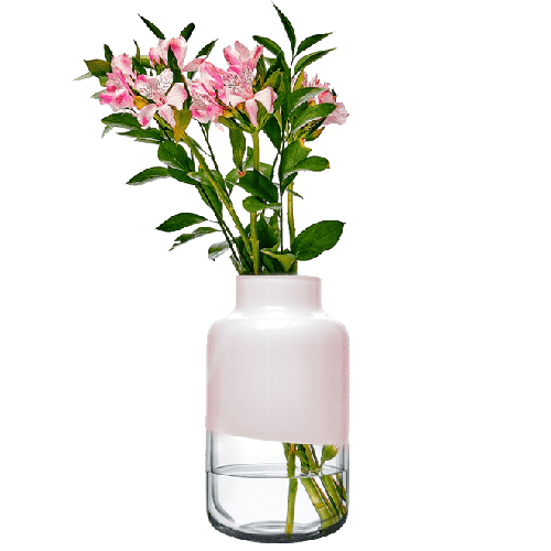 Magnolia Vase 180/320 mm | Pink Top