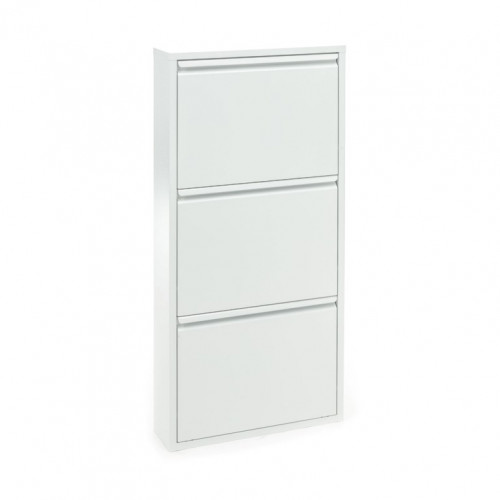 Shoe Rack Sandy 3 Doors   White