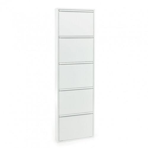 Shoe Rack Sandy 5 Doors   White