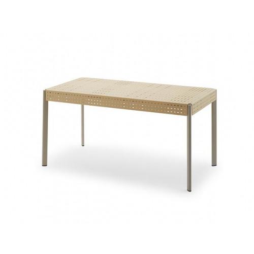 Outdoor-Tisch Gerda 140   Elfenbein / Kieselgrau