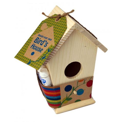 Gestalten Sie Ihr eigenes Vogelhaus