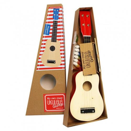 Meine eigene verrückte Ukulele-Gitarre