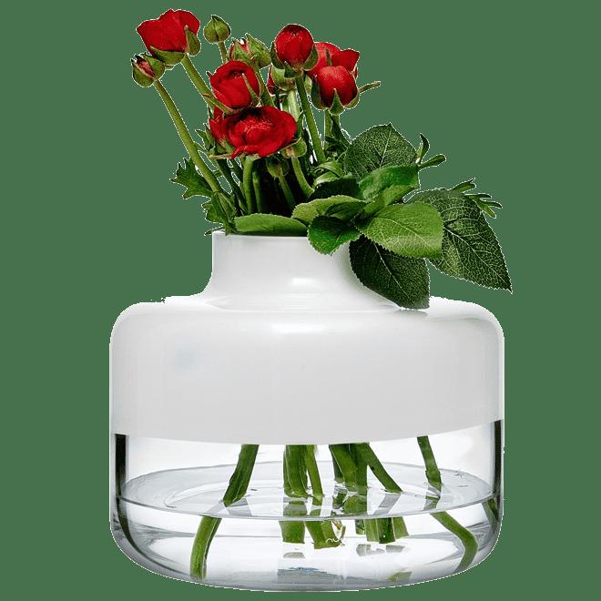 Magnolia Vase 240/200 mm   White Top