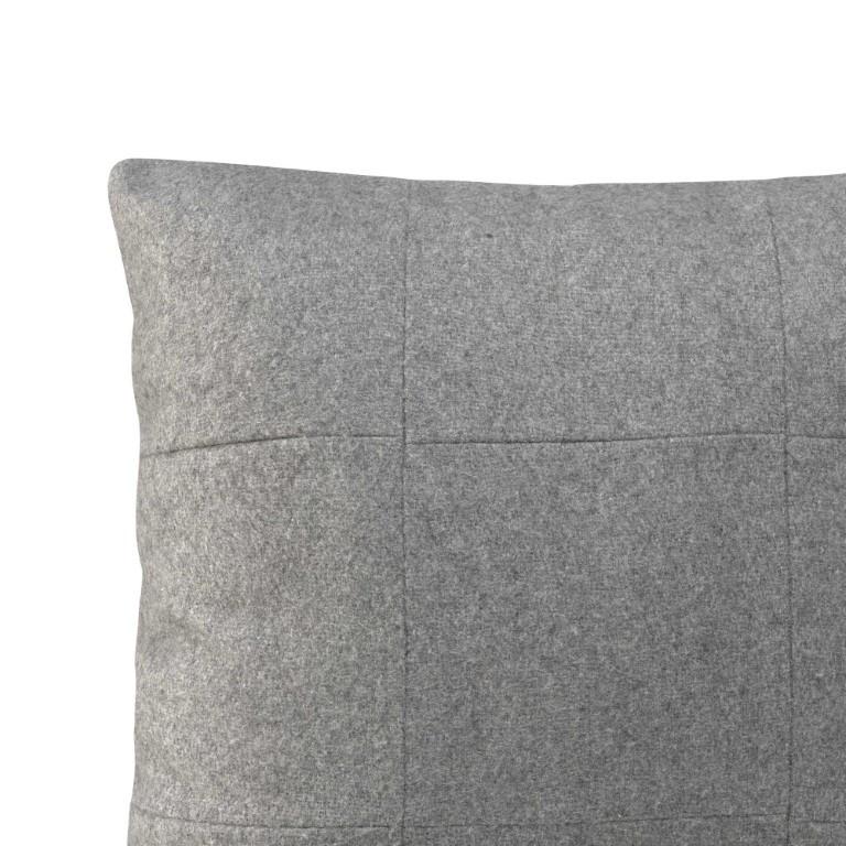 Kussenhoes 50 x 50 cm Square Felt | Grijs