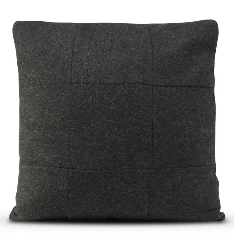 Kussenhoes 50 x 50 cm Origami Felt | Zwart