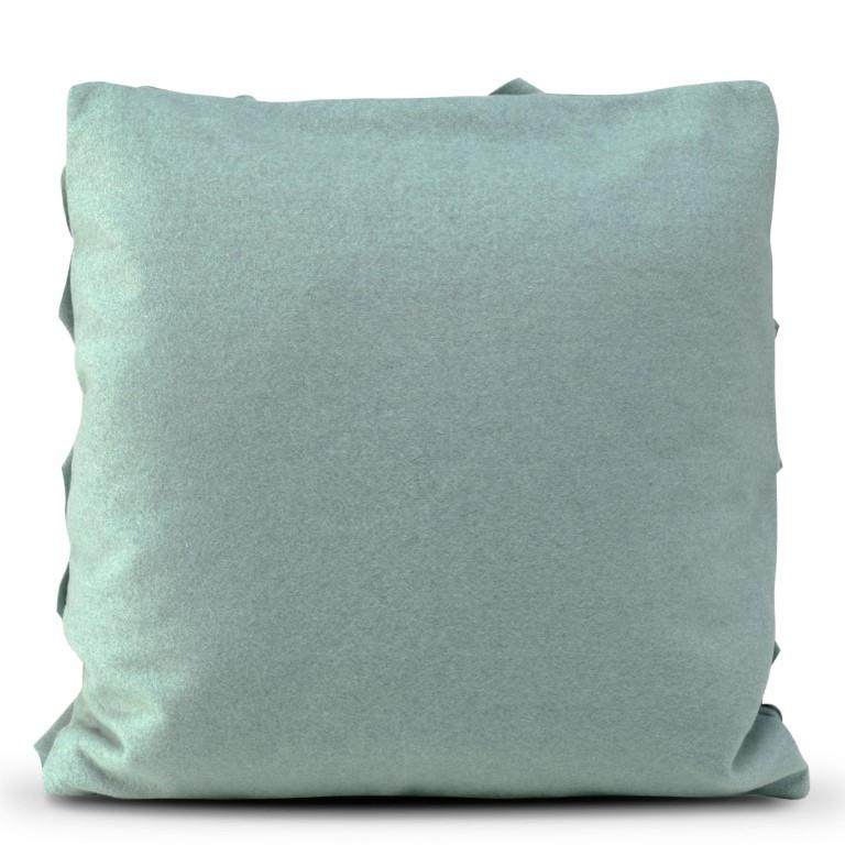 Kussenhoes 50 x 50 cm Geo Felt | Donker Turquoise